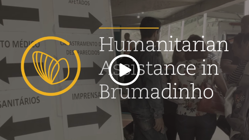 Video – Humanitarian Assistance in Brumadinho
