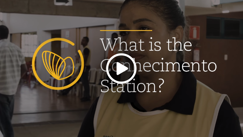 Video – What is the Conhecimento Station
