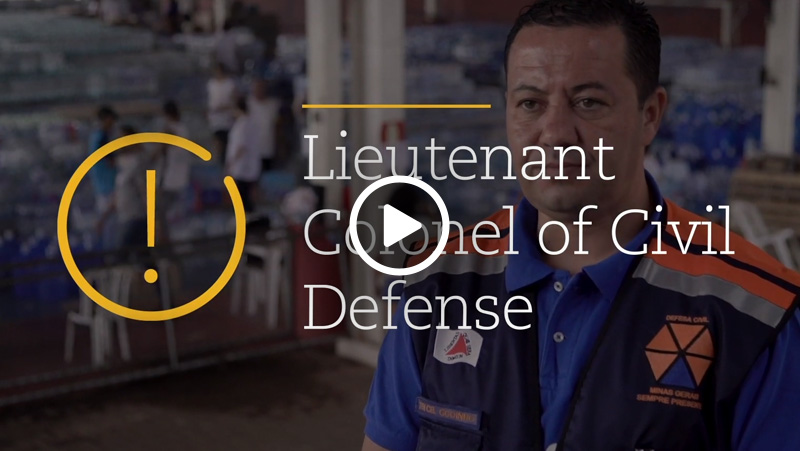Video – Lieutenant-colonel Flavio Godinho talks about donations