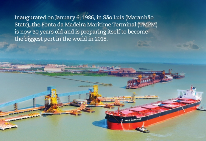 30 years of the Ponta da Madeira Maritime Terminal