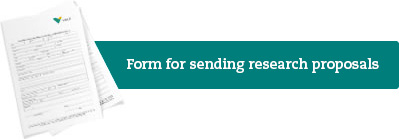 Form for sending research proposals