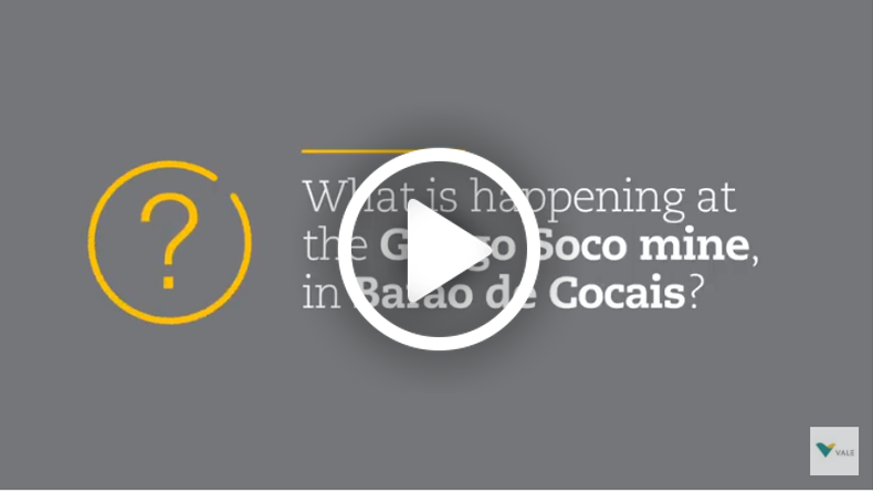 Video - Understand the situation at the Gongo Soco Mine, in Barão de Cocais.
