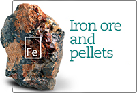Iron ore and pellets