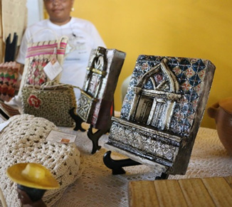 More than 200 items that reveal the rich variety of handicrafts in Maranhão