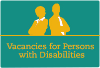 Job opportunities open to Persons with Disabilities in various states