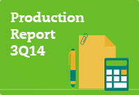 Check out our 3Q14 Production Report: highest ever third-quarter iron ore output