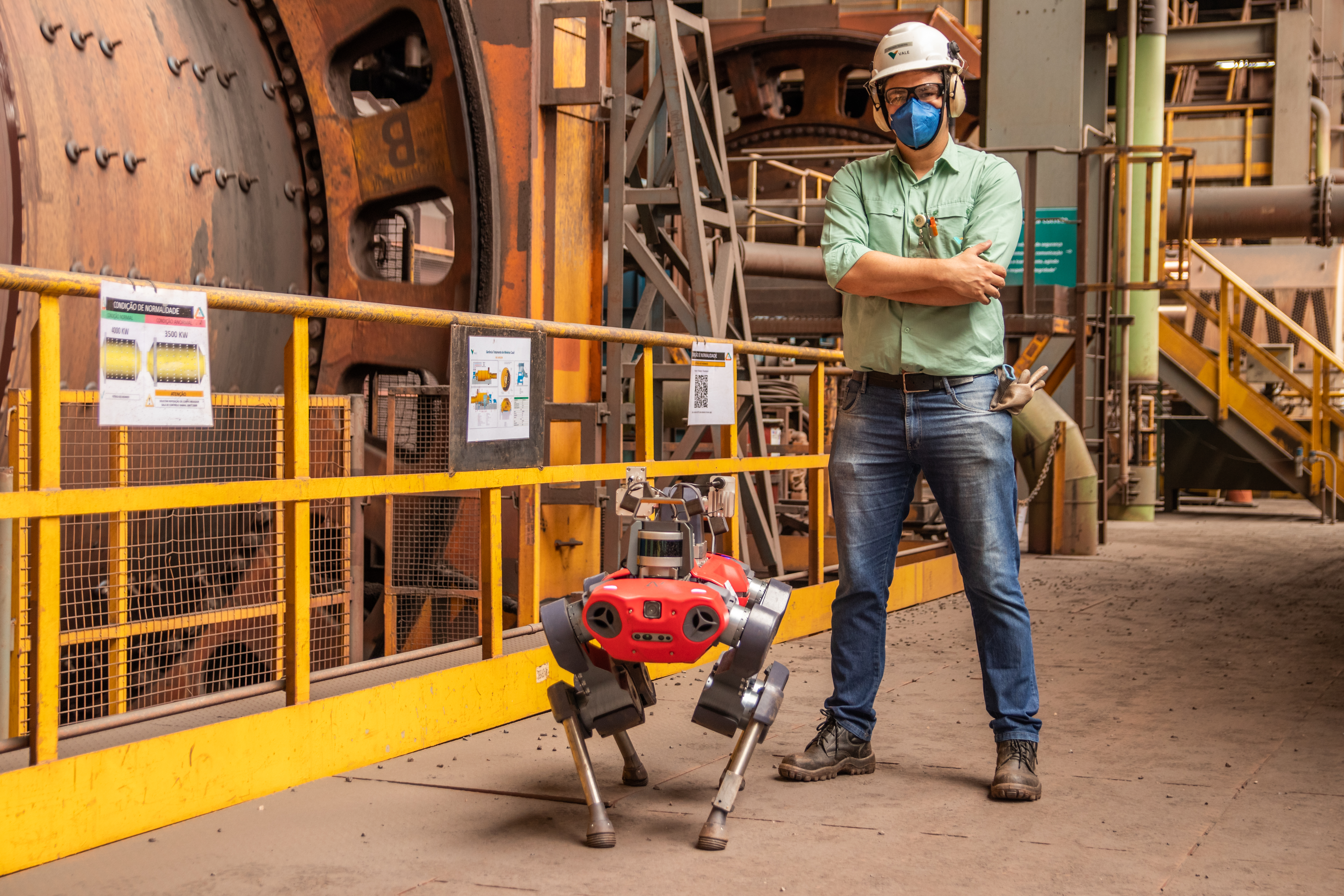 Vale uses robots to remove employees from risky situations
