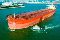 Vale receives the world's first ore carrier that produces air bubbles in the hull to reduce emissions