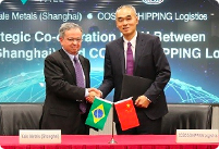 Vale and COSCO SHIPPING Logistics sign a Strategic Cooperation MoU