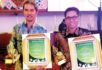 PT Vale awarded Adhitama and trophies for Environmental Management