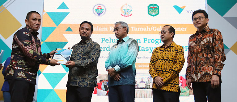 PT Vale and Lutim Regency Launch Development Program of Self-sufficient Rural Areas