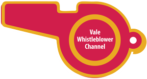 Vale Whistleblower Channel