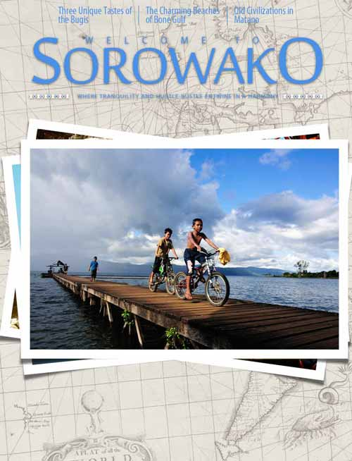 Sampul Welcome to Sorowako 2015