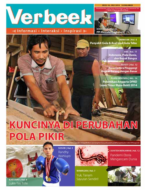 Sampul Tabloid Verbeek 10
