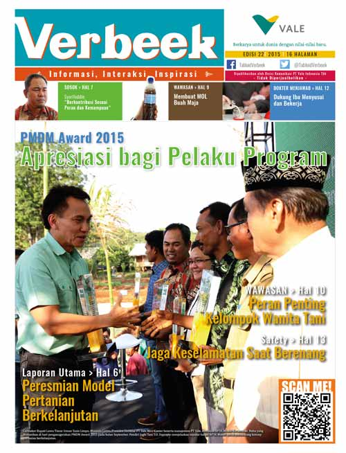 Sampul Tabloid Verbeek 22