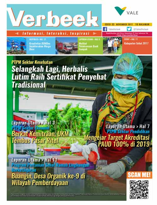 Sampul Tabloid Verbeek 33
