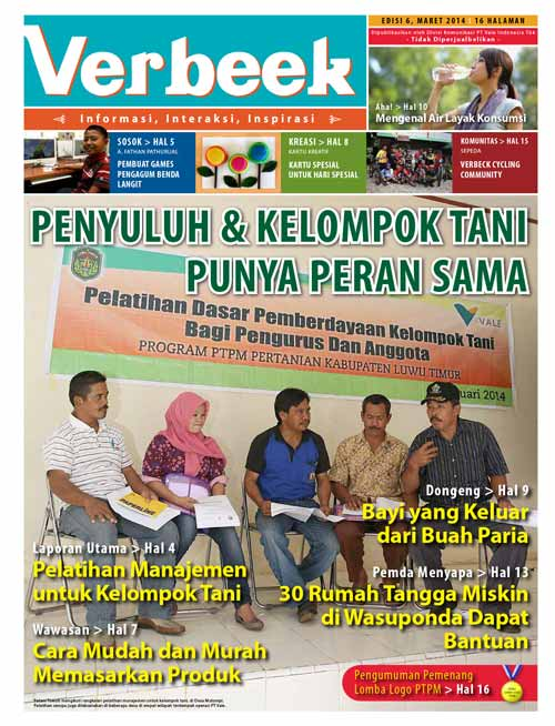 Sampul Tabloid Verbeek 6
