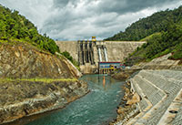 Installation of our third hydroelectric plant in the country has reduced consumption of thermally-generated energy.