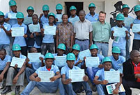 Nacala Integrated Logistics Corridor trains 74 young people in Mozambique